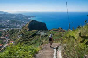 Walking trail in Madeira